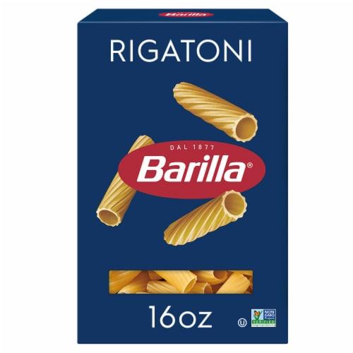 Barilla Rigatoni Pasta Perspective: front