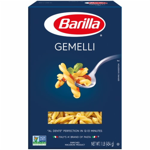 Barilla Gemelli Pasta Perspective: front
