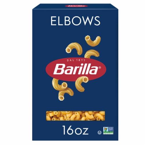 Barilla Elbows Pasta Perspective: front