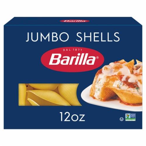 Barilla Jumbo Shells Pasta Perspective: front