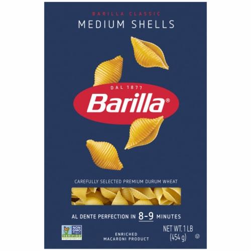 Barilla Medium Pasta Shells Perspective: front