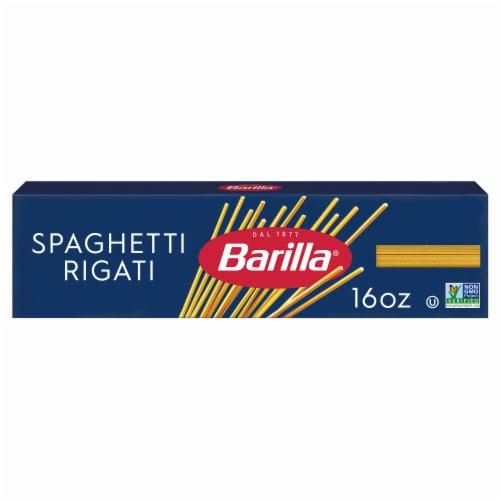 Barilla Spaghetti Rigati Pasta Perspective: front