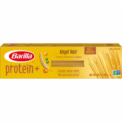 Barilla Protein Plus Angel Hair Multigrain Pasta Perspective: front