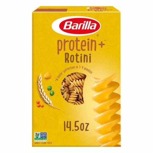 Barilla Protein+ Rotini Grain & Legume Pasta Perspective: front