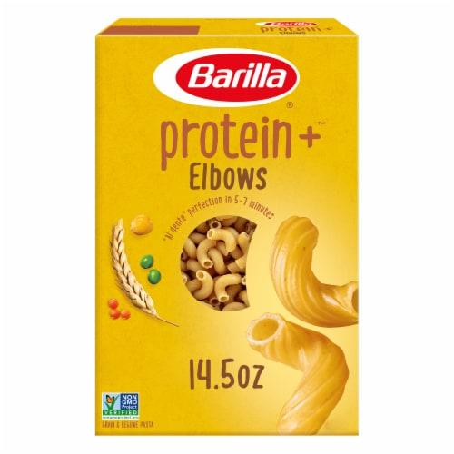 Barilla Protein+ Elbows Grain & Legume Pasta Perspective: front