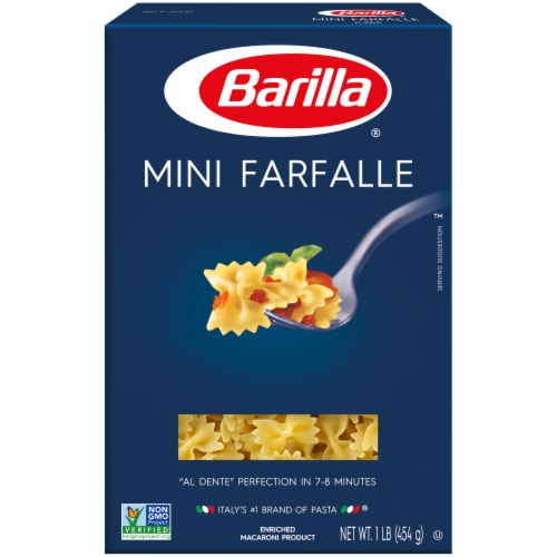 Barilla® Pasta Mini Farfalle Perspective: front