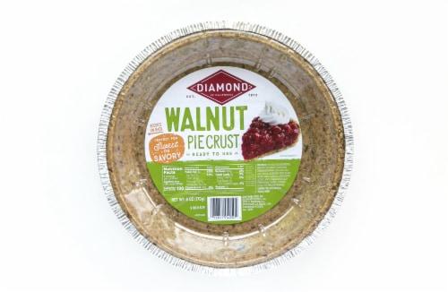Diamond Walnut Pie Crust Perspective: front