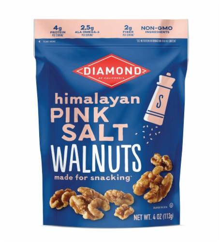 Diamond of California Himalayan Pink Salt Walnuts Perspective: front