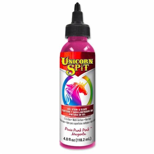 Unicorn SPiT Pixie Punk Pink Magenta Gel Stain & Glaze Perspective: front