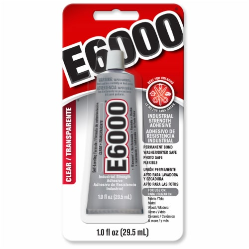 E6000 Industrial Strength Adhesive Perspective: front