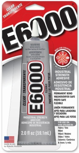 Eclectic E6000 Craft Adhesive - Clear Perspective: front