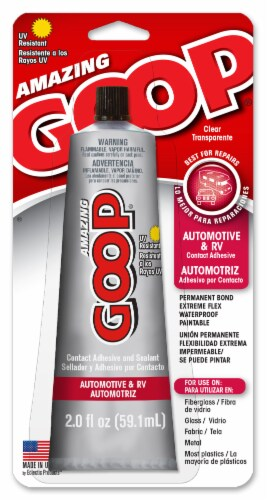 Amazing Goop Automotive Contact Adhesive and Sealant Perspective: front