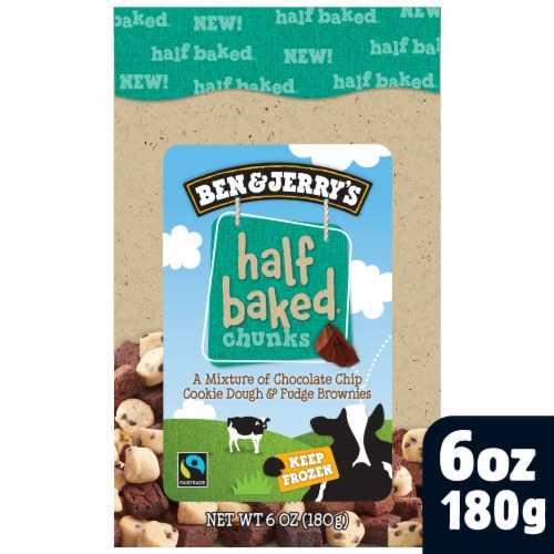 Ben & Jerry's Half Baked Chunks Perspective: front