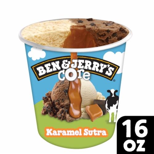 Ben & Jerry's Karamel Sutra Core Ice Cream Perspective: front