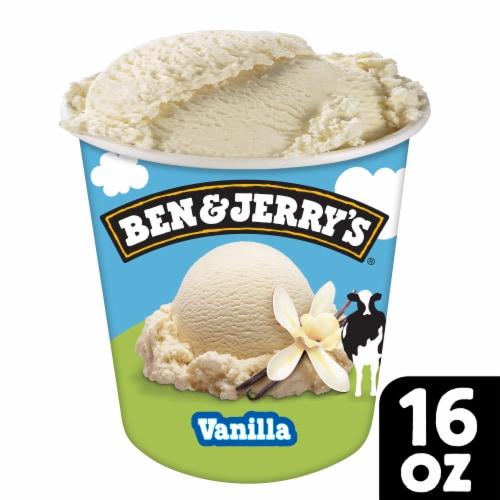 Ben & Jerry's® Vanilla Ice Cream Perspective: front