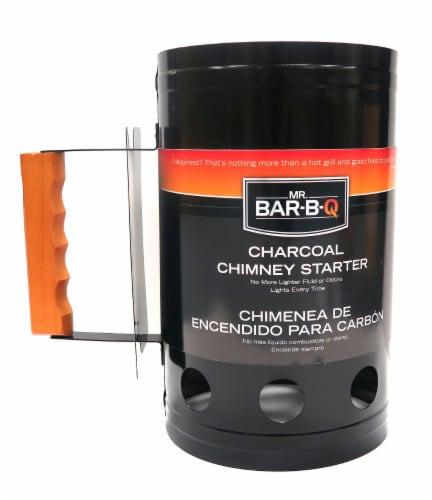Mr. Bar-B-Q Chimney BBQ Starter Perspective: front