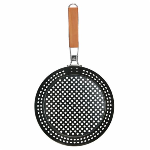 Mr. Bar-B-Q Non-Stick Skillet With Removable Handle Perspective: front