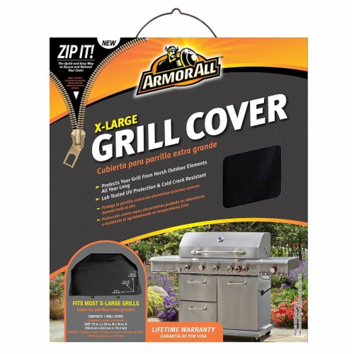 Armor All® Grill Cover - Black Perspective: front
