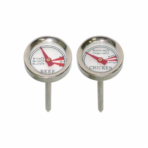 Mr. Bar-B-Q Meat Grilling Thermometers Perspective: front
