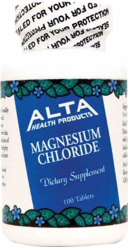 Alta Health Magnesium Chloride Tablets Perspective: front