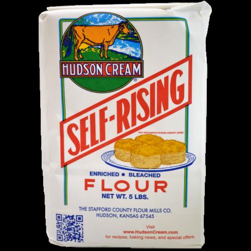 Hudson Cream Self-Rising Flour Perspective: front