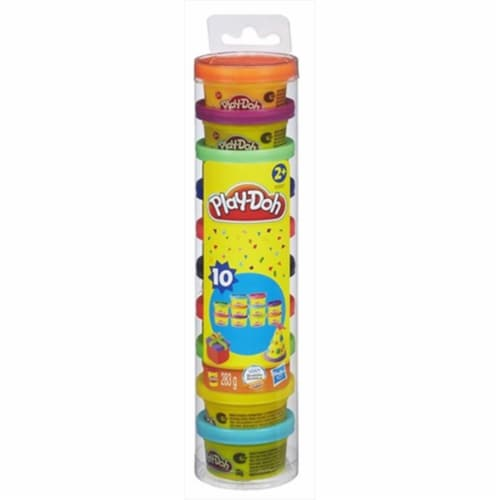 Play-Doh Party Pack 10 - 1oz cans Perspective: front