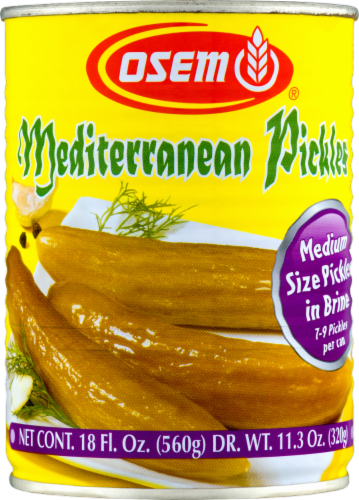 Osem Mediterranean Pickles Perspective: front