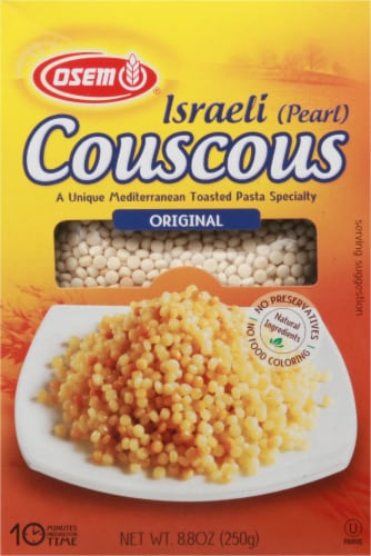 Osem Israeli Pearl Couscous Perspective: front