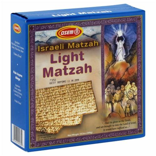 Osem Passover Light Matzah Perspective: front