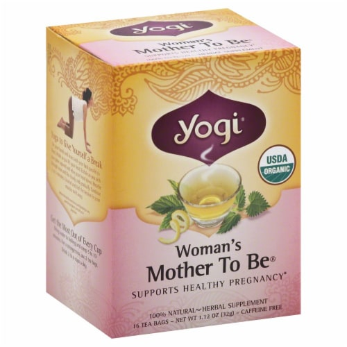 Yogi Tea Mother To Be Perspective: front