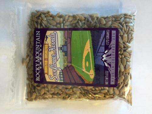 Rocky Mountain Treats Sunflower Kernels Perspective: front