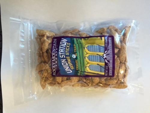 Rocky Mountain Treats Sesame Sticks Perspective: front
