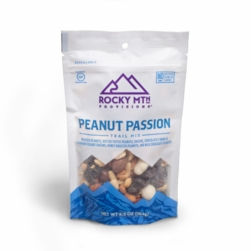 Rocky Mtn Provisions Peanut Passion Trail Mix Perspective: front