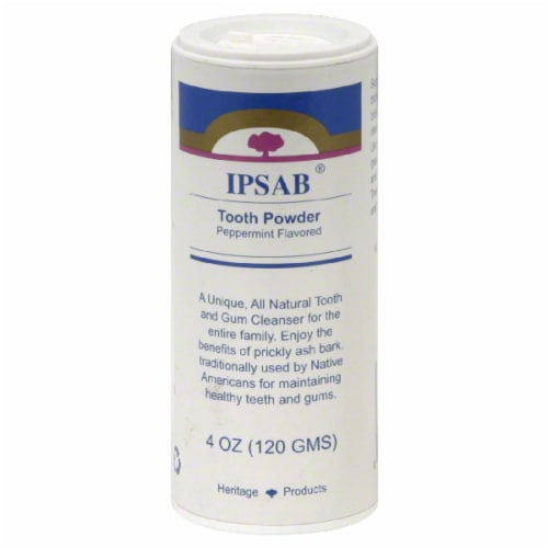 Heritage Products Ipsab Tooth Powder Perspective: front