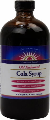 Heritage Products  Cola Syrup Perspective: front