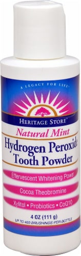 Hrtg Hydrogen Peroxide Tooth Powder Perspective: front