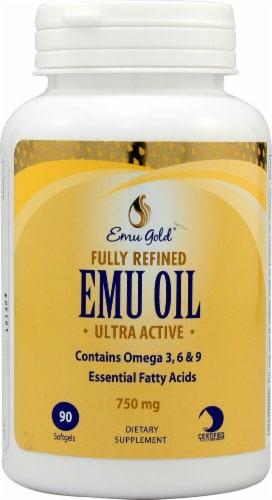 Emu Gold  Emu Oil Perspective: front