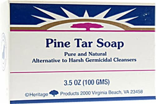 Htgprd Pine Tar Soap Perspective: front