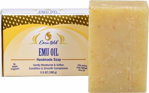 Hrtg Emu Oil Bar Soap Perspective: front