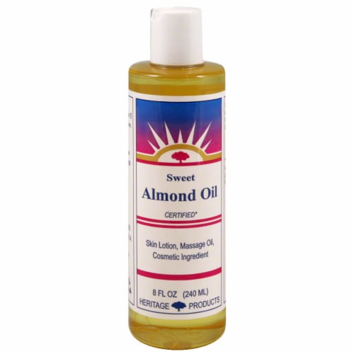 Heritage Sweet Almond Oil Perspective: front