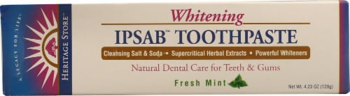Heritage Products Ipsab Whitening Toothpaste Perspective: front