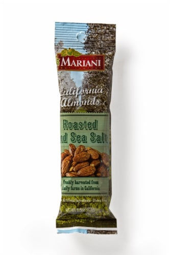 Mariani California Almonds Roasted and Sea Salt Almonds Perspective: front