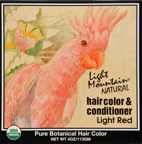 Light Mountain Strawberry Hair Color & Conditioner Perspective: front