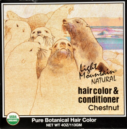 Light Mountain Chestnut Hair Color & Conditioner Perspective: front