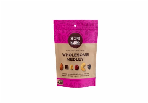 Second Nature Wholesome Medley Trail Mix Perspective: front