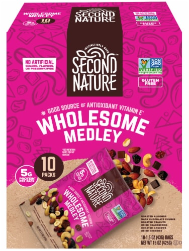 Second Nature® Gluten Free Wholesome Medley Mix Packs Perspective: front