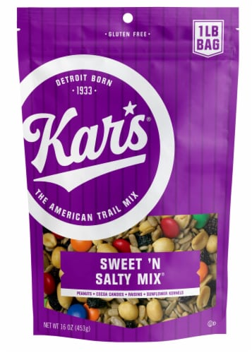 Kar's Gluten-Free Sweet 'N Salty Mix Perspective: front