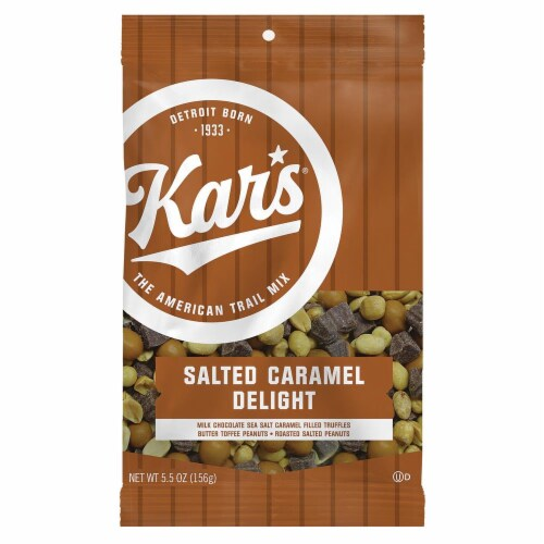 Kar's Salted Caramel Delight Trail Mix Perspective: front
