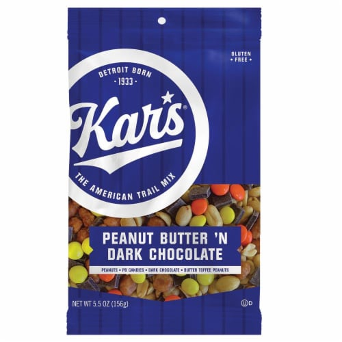 Kar's Peanut Butter 'n Dark Chocolate Trail Mix Perspective: front