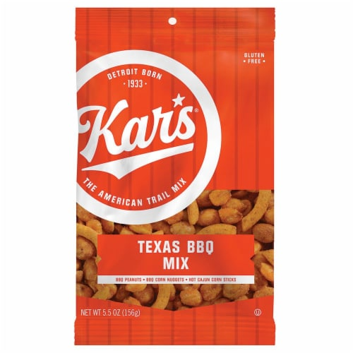 Kar's Texas BBQ Trail Mix Perspective: front